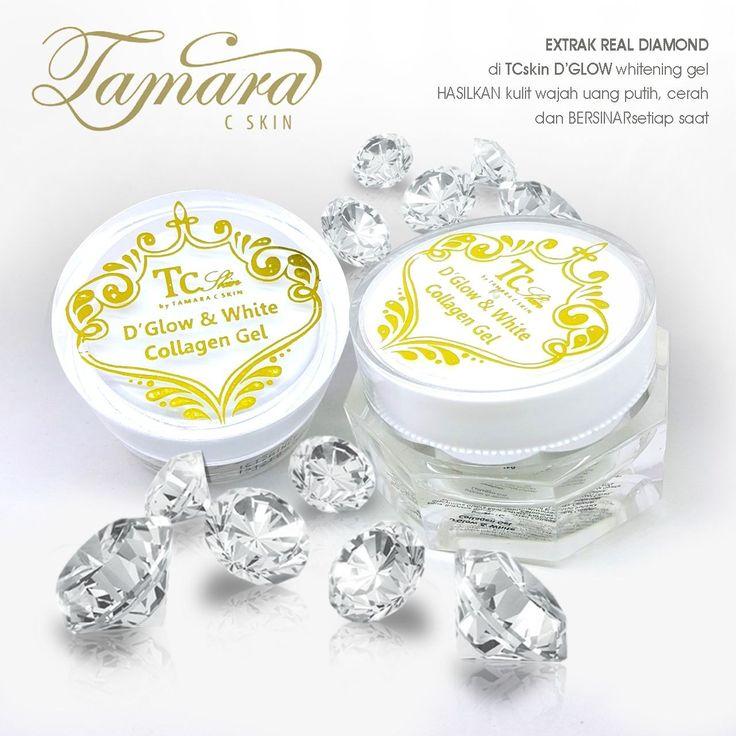 Woow  WAJAH MERONA BERSINAR glowing setiap hari setiap saat KULIT WAJAH nya, hasil dari KULIT yg SEHAT dengan TCSKIN PAKET 3D WHITE + DIAMOND GLOW GEL COMPLETE SET   PAKET HEMAT PERAWATAN dgn BERLIAN EKSTRAK  dari TCskin by TAMARA C SKIN:  ~TCskin PAKET 3D WHITE 450rb + DIAMOND GLOW GEL 20gr 370rb jadi 820rb.   COMPLETE SET HEMAT nya hanya 750rb (hemat 70rb)  KONSULTASI n ORDER open 24jam untuk KULIT CANTIK yg SEHAT dgn TCskin by TAMARA C SKIN