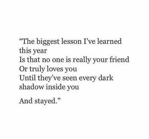 The biggest lesson