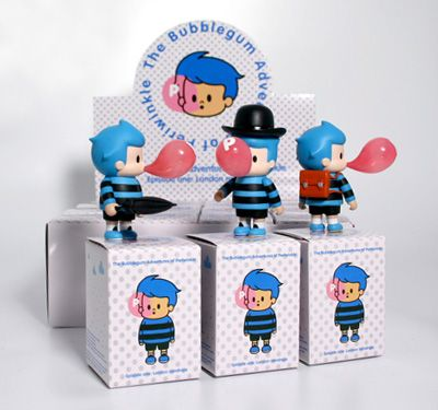 The Bubblegum Adventures of Periwinkle, available at Playlounge, designed by bubi au yeung :)