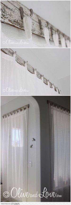 ditch the rods, curtain hooks!
