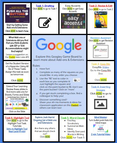 #HyperDocs were created by Lisa Highfill Lisa Highfill, Kelly Hilton @KellyiHilton and Sarah Landis @SarahLandis. Be sure to follow them and @TsGiveTs…