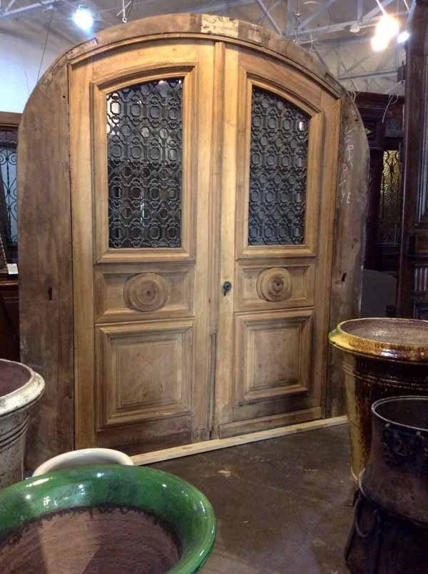 Antique French Doors For Sale | Antique Double Oak Doors | Pittet Architecturals