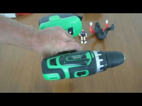RC construction and cordelsss drill score at second hand store
