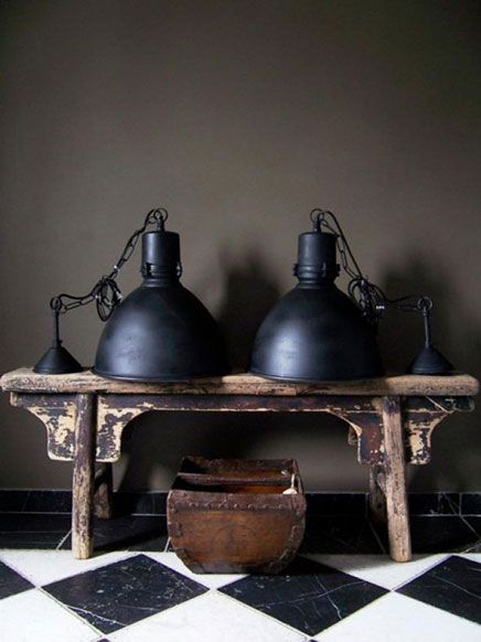 130 best lampen images on pinterest industrial floor lamps and rustic wall sconces. Black Bedroom Furniture Sets. Home Design Ideas