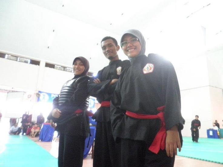 Kejuaraan Nasional Silat Antar Perguruan Tinggi @ Unhas,Makassar
