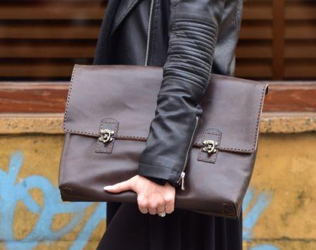 Agarapati Leather  ®  Clutch Çanta