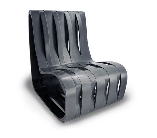 Carbon Fiber Chair, Simple Idea And Easy Design To Manufacture.