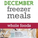 This website is AMAZING!  Every month there are TONS of freezer recipes, organized into traditional, whole foods, gluten & dairy free, diet, vegetarian and baby food menus! If you become a member, there are even recipe cards, labels and such to print out.