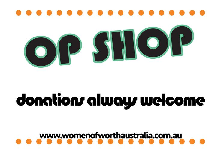 Donations always welcome for more visit www.womenofworthaustralia.com.au/donations/