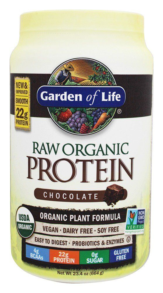 Raw Organic Protein Chocolate 23 Oz Plant Protein Sports Nutrition And Organic