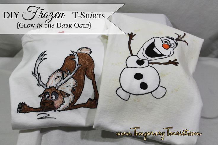 Frozen T-Shirt Templates