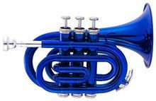 Ravel - Pocket Trumpet - Blue