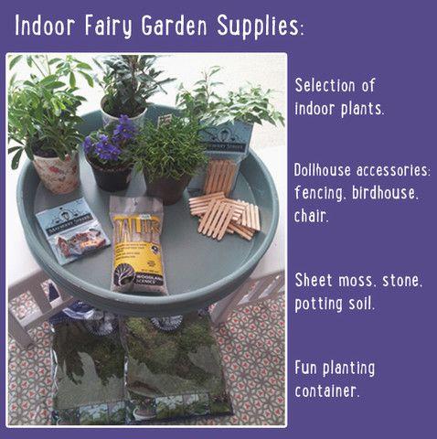 plant an indoor fairy garden diy a little lair