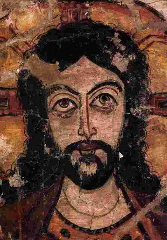 Das Hohelied der Liebe  Christus - 7. Jh., Koptisches Museum, Alt-Kairo