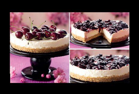 Cheesecake med körsbär | Recept från Köket.se
