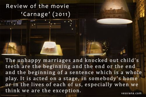 Review of the movie 'Carnage' (2011)