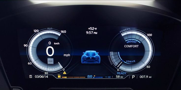 BMW i8 Production version looks much more easy to understand. future interface