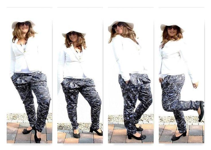 #happysewingchallenge  #pattydoo  @pattydooblog  #tascheoderkleidung heißt es heute! Und ich nähe zwar auch gerne Taschen aber Kleidung ist mir immer noch lieber! Egal ob für mich #Herrtiger oder den kleinen #schnullertiger! Ich nähe sooooo gerne Kleidungsstücke! Und mit der neuen #ovi ist das jetzt auch ein Traum!   Die Hose ist übrigens Jenna von pattydoo   #nähenmachtglücklich #nähenisttoll #diy #selbermachen #nähen #nähblogger #nähenistwiezaubernkönnen #sewingmama #stoffliebe…