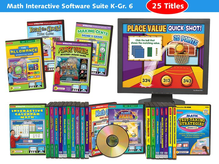 Math Software Suite - Elementary - Single License CD-ROMs