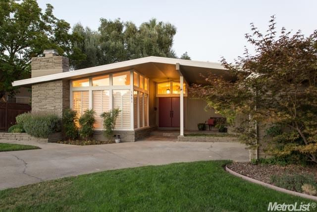 25 best ideas about mid century ranch on pinterest for Cost to build mid century modern home