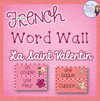 Do you want an easy way to incorporate some Valentine's vocabulary into your February lessons? These 30 word wall cards are perfect for your bulletin board or wall, and they will be a perfect addition to your classroom! You'll get 30 words with graphics inside cute pink and red polka-dot borders.