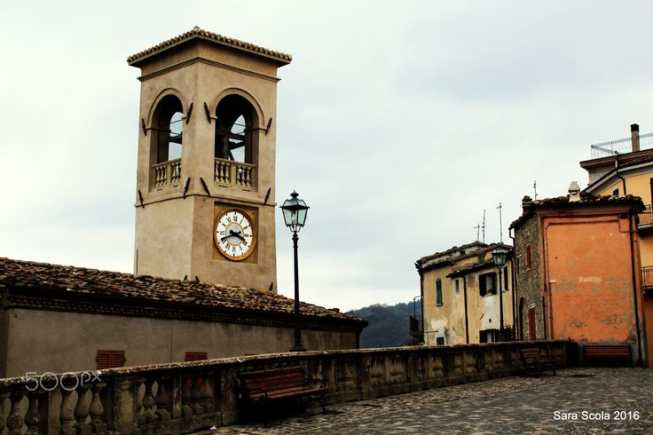 Time has stopped here - in the small hamlet of Sassocorvaro, Marche, Italy