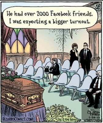 Facebook Humor | Expeccting a bigger turnout! Created by Bizarro Comics via Matt Clark on Funny Technology - Community - Google+
