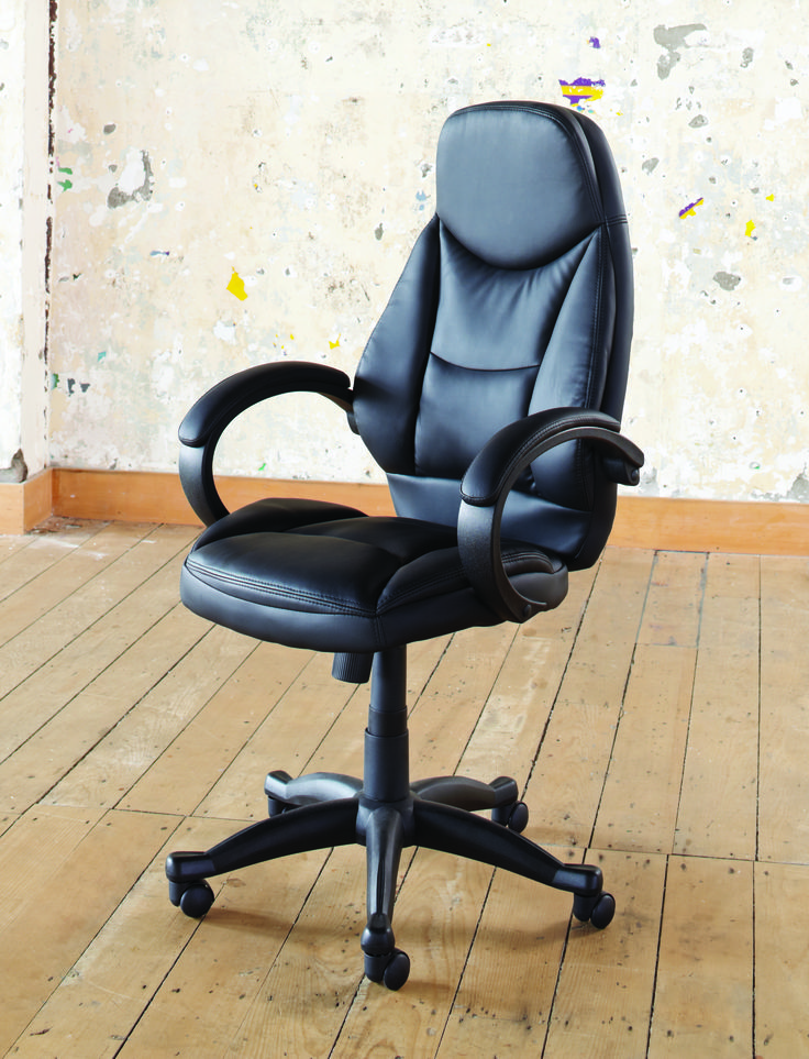 The Jack Office Chair is a comfortable office chair with contoured seating and padded arm rests for your utmost comfort.