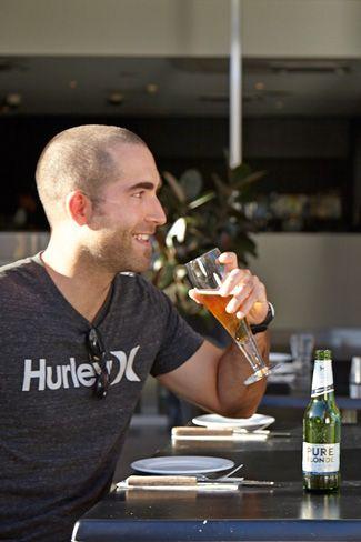 Pure Blonde Beer - Hurricane's Grill Bondi Beach