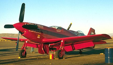 Long Gone Legends of Air Racing, the Red Baron