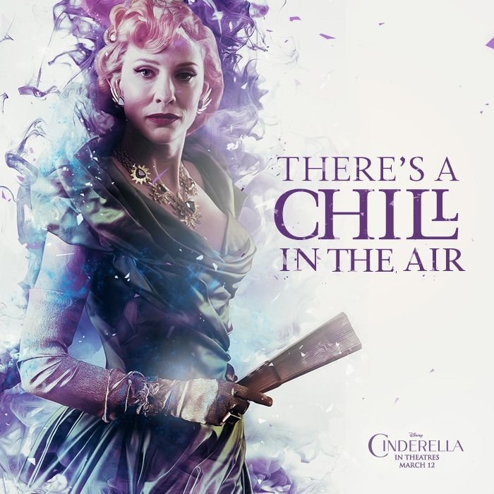 A slight chill indeed! Who are you most excited to see in Disney's upcoming live action film #Cinderella? Coming to Philippine cinemas March 12.