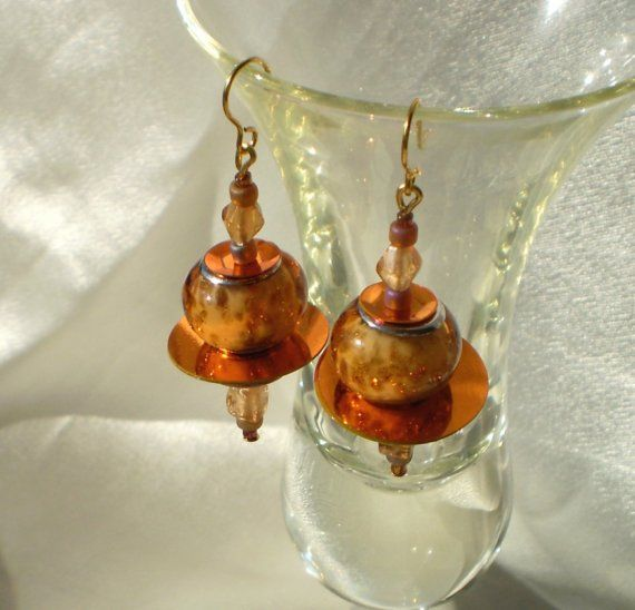 Copper reflections by EachBeadCounts on Etsy