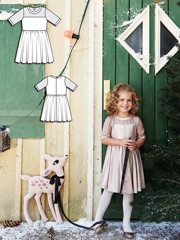 Read the article 'Winter Darling: 8 New Sewing Patterns for Girls' in the