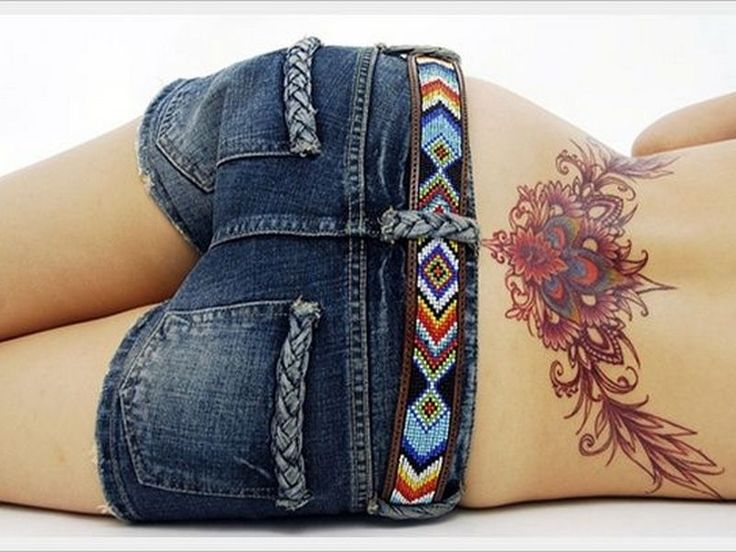 20 Sexy Lower Back Tattoo designs specially for Girls