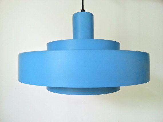 1960s Jo Hammerborg / design Equator/ pendant lamp / for Fog & Morup