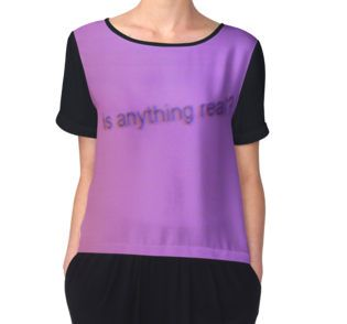 Neon purple women's top