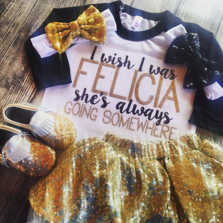 I Wish i was Felicia she's always going somewhere girls fashion glitter shirt Bye felicia shirt kids clothes gold glitter shirt by PurplePossom on Etsy https://www.etsy.com/listing/253863546/i-wish-i-was-felicia-shes-always-going