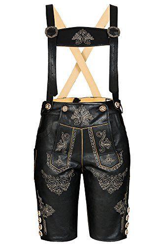 #Wiesn #Oktoberfest #Traditionelle #Damen #Trachten #Lederhose #knielang mit #aufwendiger #Stickerei, #Schwarz #,Gr.34 Traditionelle Damen Trachten Lederhose knielang mit aufwendiger Stickerei, Schwarz ,Gr.34, , Trachten Lederhose aus Rindsleder inkl. Hosenträger, 2 Seitentaschen, 1 Messertasche, Hosenbund ist mit Lederbändern verstellbar., Sehr angenehm zu tragen, Perfekt für alle Anlässe!