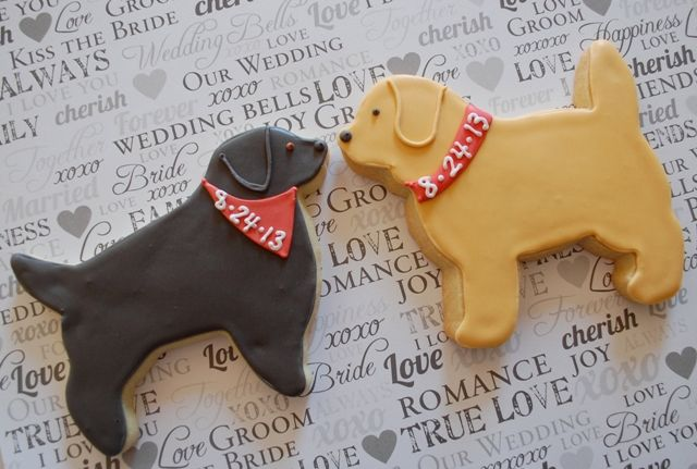 Image result for wedding dog cookies