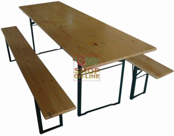 Tavolo pallet ~ Tavolo realizzato artigianalmente con vecchie assi da ponteggio in