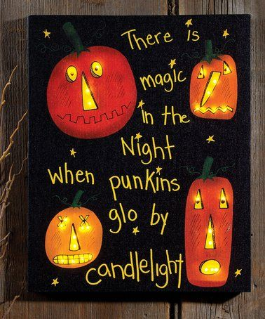 Another great find on #zulily! 'Magic in the Night' Lighted Canvas #zulilyfinds