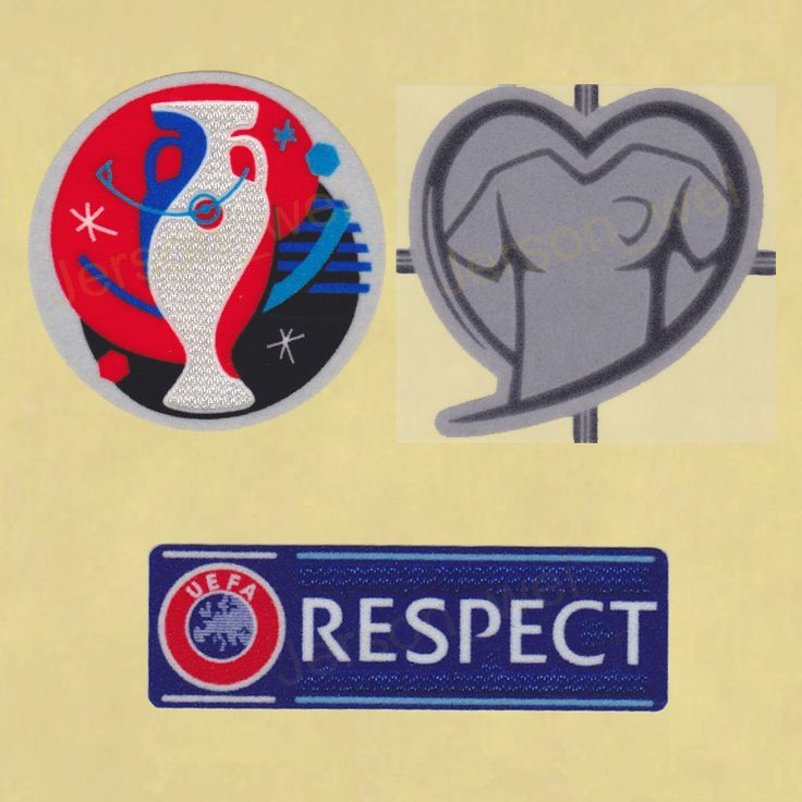UEFA EURO 2016 Qualifiers Football Soccer Play Respect Jersey Shirt Patch badge | 3D Timix Soccer Patch