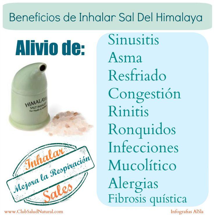 Beneficios de Inhalar Sales y Uso del Inhalador de Sal - Club Salud Natural