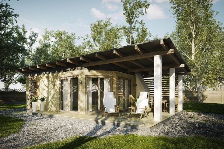 DOM.PL™ - Projekt domu KP G177 CE - DOM KT2-92 - gotowy projekt domu