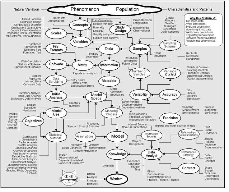 Statistics flowchart...determining which stats test is best for your data