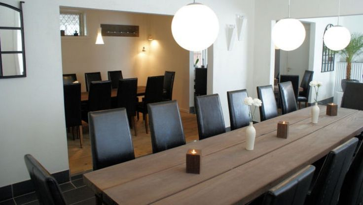 THORS Gaia at restaurant Ålbækken #diningtable #hospitality