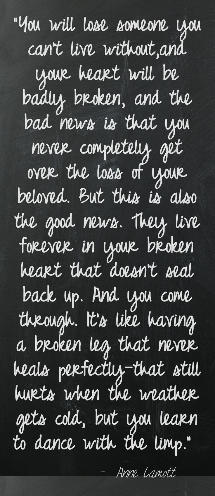 Love, love this quote and love some more!