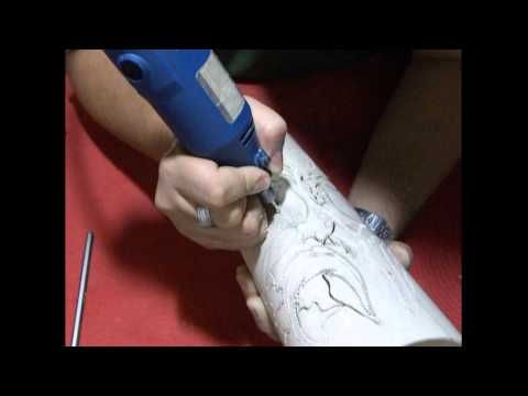 Tutorial Luminária PVC Parte 2/3 do Floral 06 - YouTube