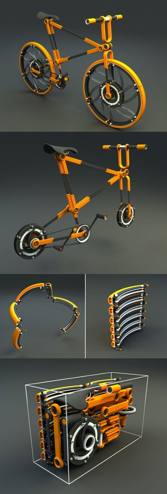 Складной велосипед ECO//07