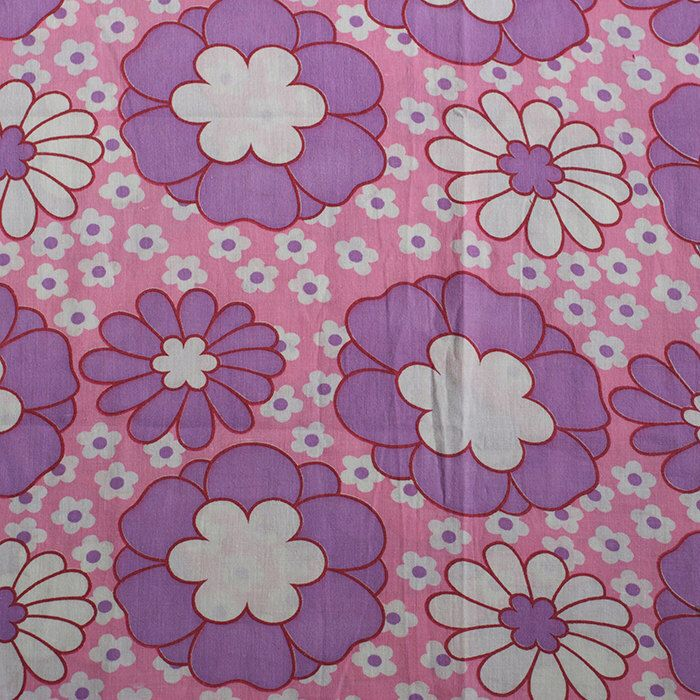 Seventies vintage floral fabric by FrauSvensson on Etsy https://www.etsy.com/listing/167212250/seventies-vintage-floral-fabric